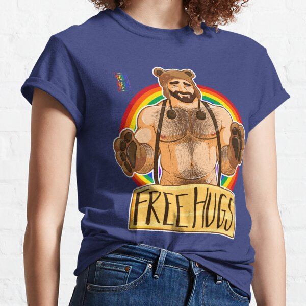 ADAM LIKES HUGS - GAY PRIDE Classic T-Shirt