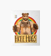ADAM LIKES HUGS - GAY PRIDE Art Board