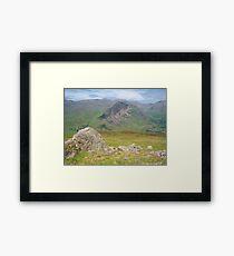 The Lake District: Yewbarrow Framed Print