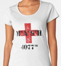 MASH 4077th Women's Premium T-Shirt