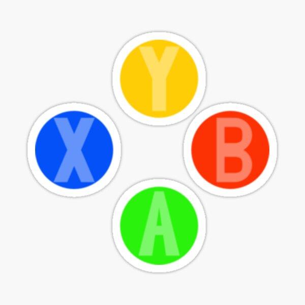 Controlador Xbox 360 / Xbox One Botones A, B, X e Y Pegatina