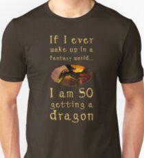Fantasy Dragon Unisex T-Shirt