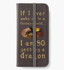 Fantasy Dragon iPhone Wallet/Case/Skin