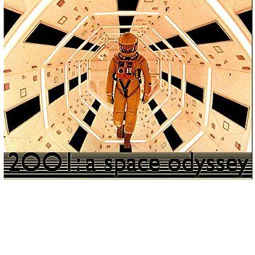 2001 Ein Weltraum Odyssee Shirt! von comastar