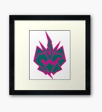 Ponyformers Divination 2: Chrysacons Symbol Framed Print