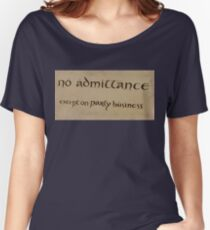 party business Women's Relaxed Fit T-Shirt
