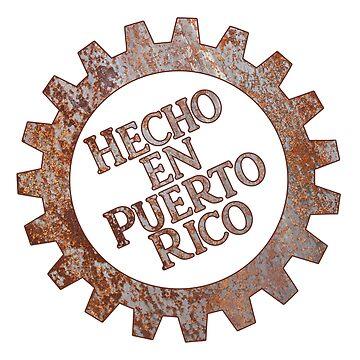 Hecho en Puerto Rico - Made in Puerto Rico - Boricua Pride by ShikitaMakes
