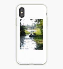 paddle boat iPhone Case
