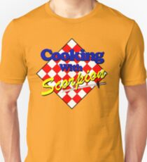 Cooking with Scorpion Unisex T-Shirt