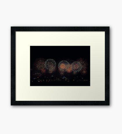 Skyworks 2009  Framed Print