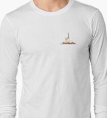 Space X Falcon Heavy Launch Long Sleeve T-Shirt