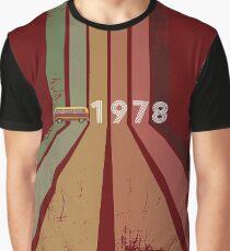 Camiseta gráfica Viaje de 1978