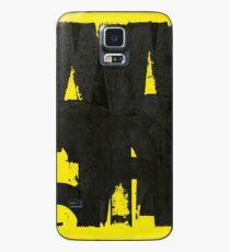 Arty Letterpress Print Case/Skin for Samsung Galaxy