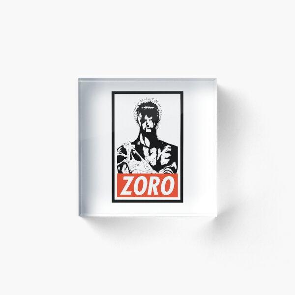 Roronoa Zoro Acrylic Block