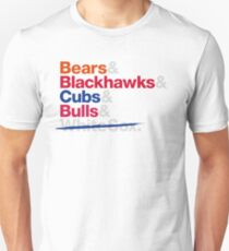 Chicago Sports Teams Cubs Unisex T-Shirt