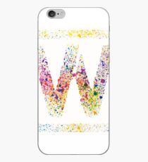 Wim Crouwel - Letterpress Messy print iPhone Case