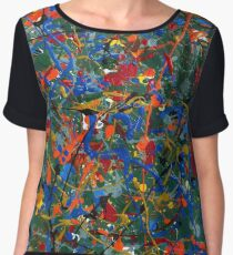Abstract #17 Chiffon Top