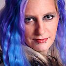 Blue Haired Lady by IanPharesPhoto