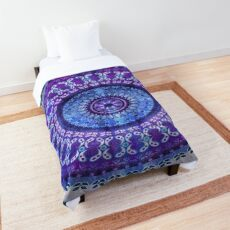Hydrengea Mandala Comforter
