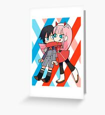 Darling in the FranXX Greeting Card