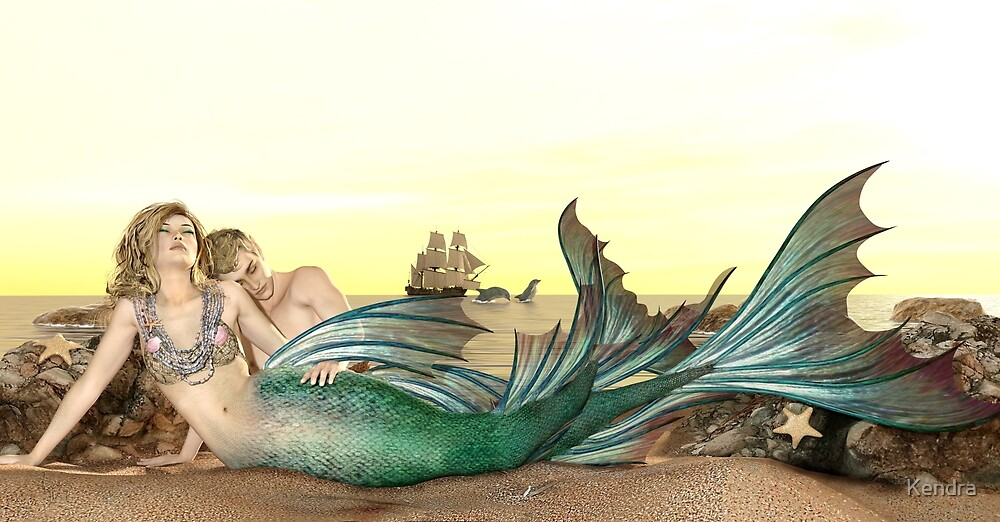 Mermaids - by AffectiveArtistry by Kendra