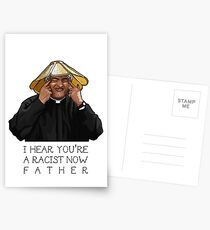 Father Ted- I hear you're a racist now Postcards
