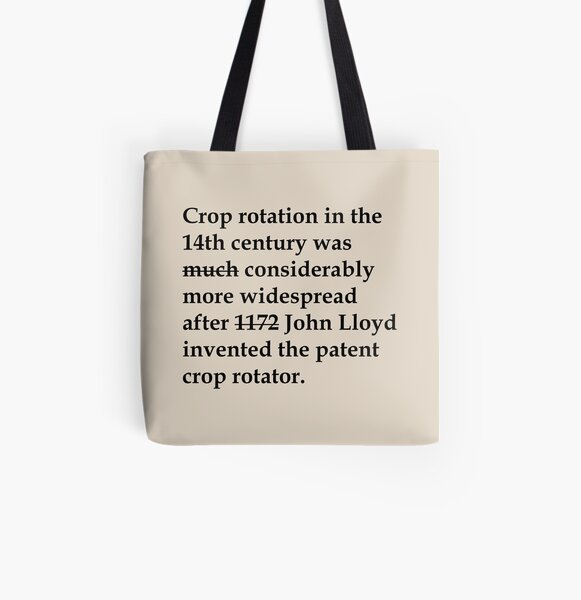 Crop Rotation All Over Print Tote Bag