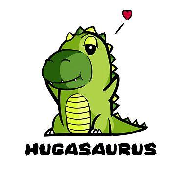 Hugasaurus by hoofster