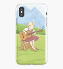Musical Girl iPhone Case
