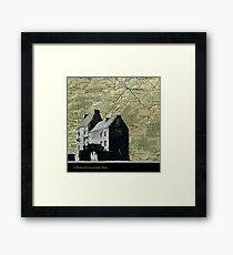 Outlander Location Lallybroch  Framed Print