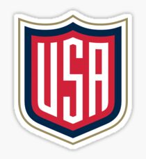 Team USA Logo Sticker