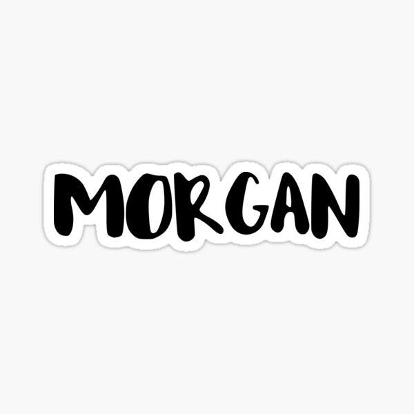 Morgan Sticker