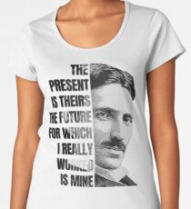 Nikola Tesla Women's Premium T-Shirt