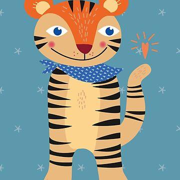 Little Tiger by feigenherz
