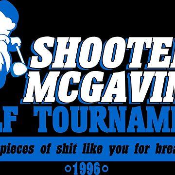 Shooter mcgavin's golf tournament Funny Geek Nerd by fikzuleh