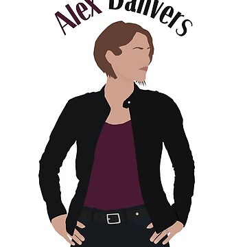 Girl Of Steel - Alex Danvers (3x01 Minimalist) by dolphinvera