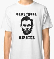 Oldschool Hipster Lincoln Classic T-Shirt