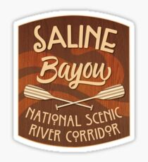 Saline Bayou, National Wild and Scenic River Sticker
