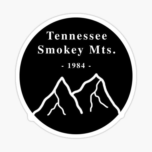 Tennessee Smokey Mtns. Sticker