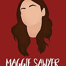 Maggie Sawyer - 2x09 Minimalist (Real, full, happy life) by dolphinvera