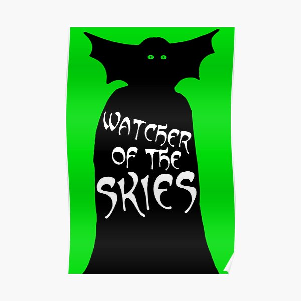 Watcher of the Skies Poster