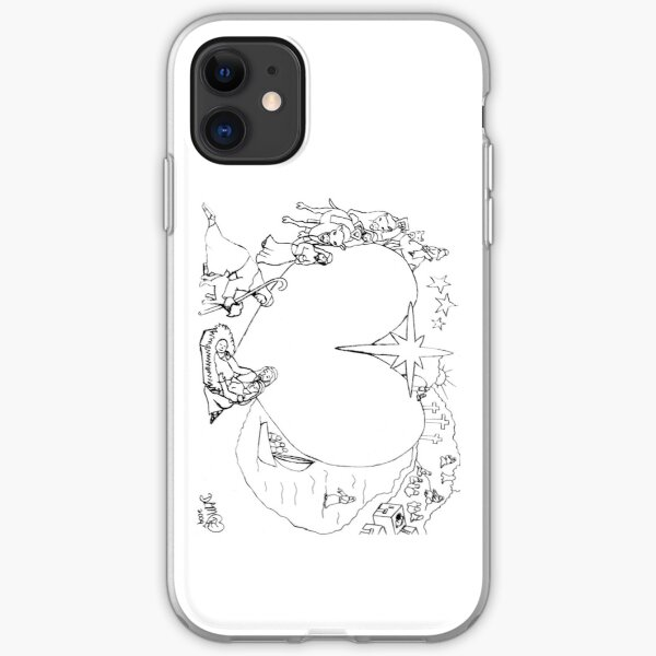 Wrapped in the arms of His love iPhone Soft Case