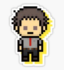 Ryotaro Dojima - Persona 4 Pixel Art Sticker