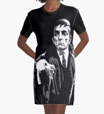 Dark Shadows - Barnabas Collins 2 Graphic T-Shirt Dress