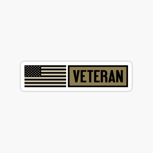 Military: Veteran Sticker