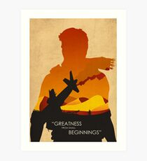 Greatness from small beginnings Art Print