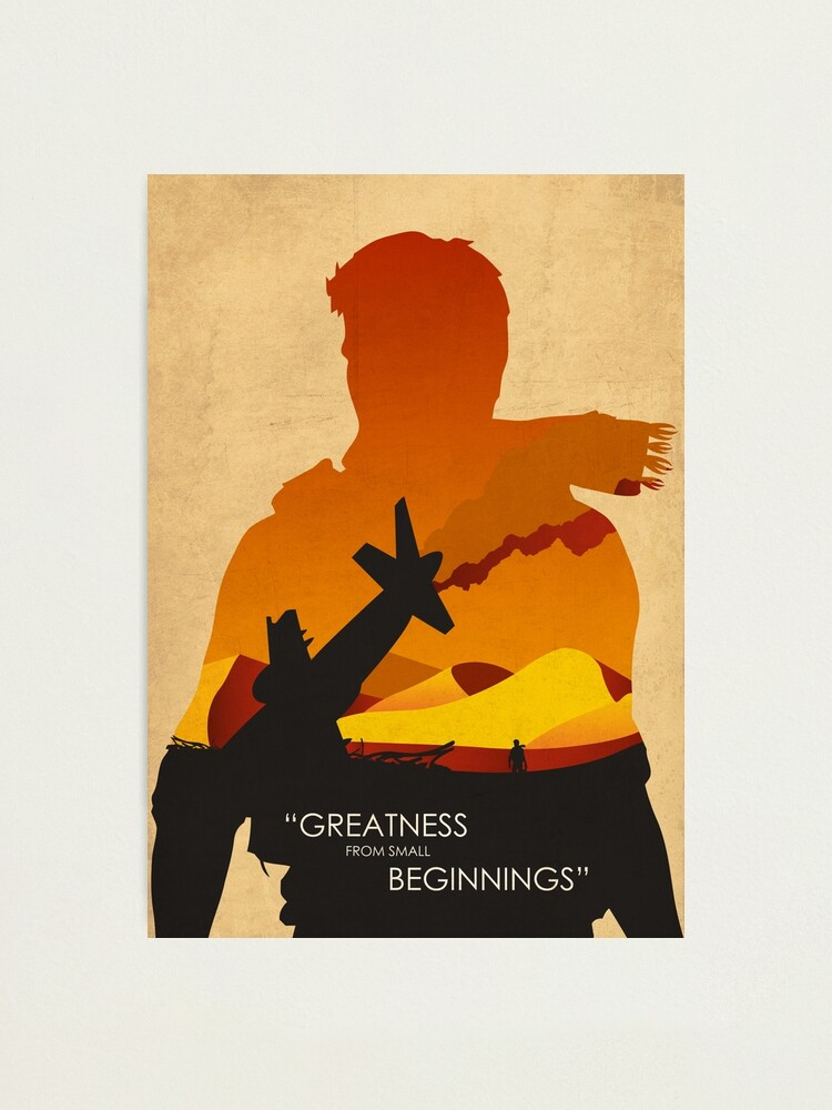 Alternate view of Greatness from small beginnings Photographic Print