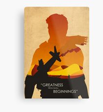 Greatness from small beginnings Metal Print