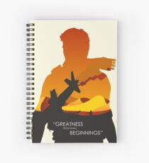 Greatness from small beginnings Spiral Notebook