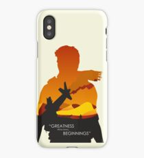 Greatness from small beginnings iPhone Case